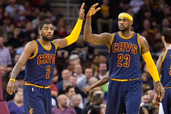 La sociedad James-Irving será clave en Cleveland. | Fuente: Jason Miller, Getty Images.