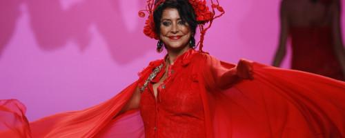 María Pineda, modelo y luchadora contra el cáncer