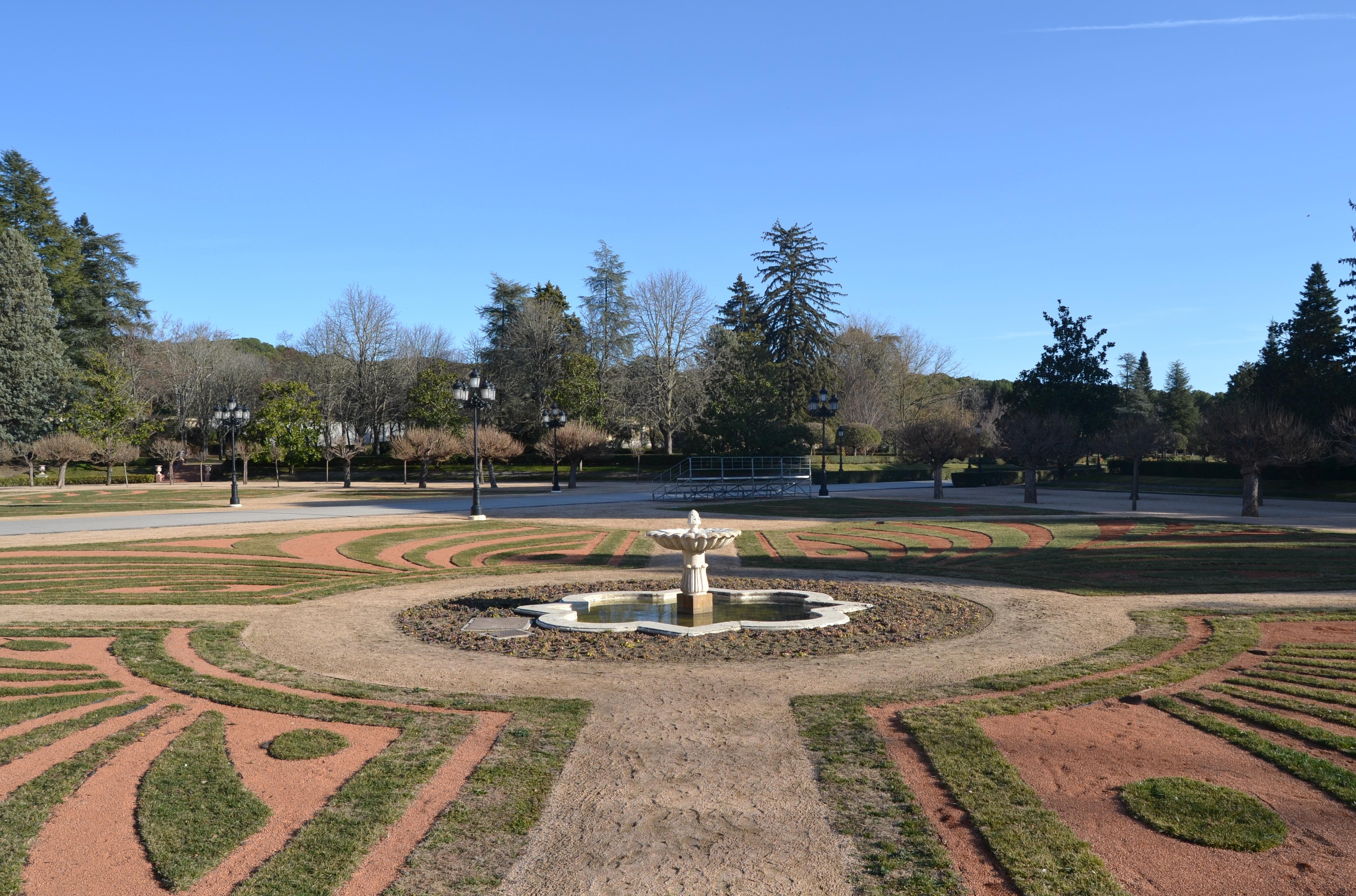 Jardines del Palacio del Pardo | Ⓒ Marta R. Suárez
