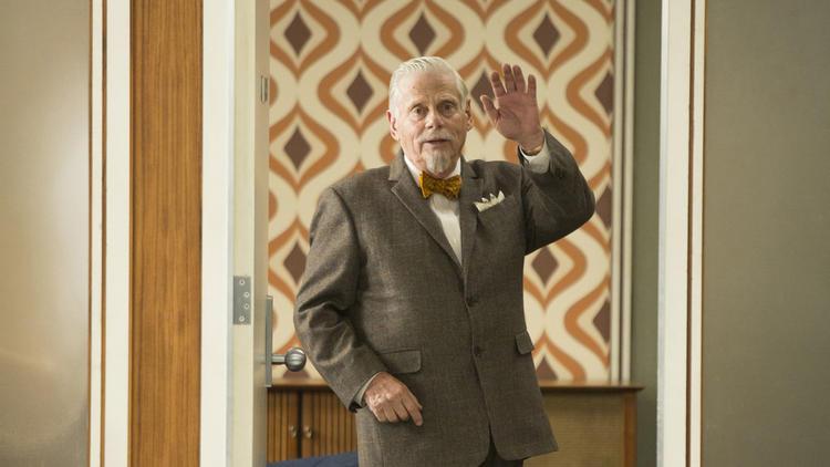 Bert Cooper diciendo adiós a Mad Men | latimes.com