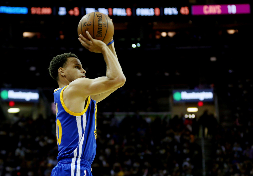El termómetro de los Warriors: (casi) todo depende del estado de Curry | ©Mike Ehrmann, Getty Images