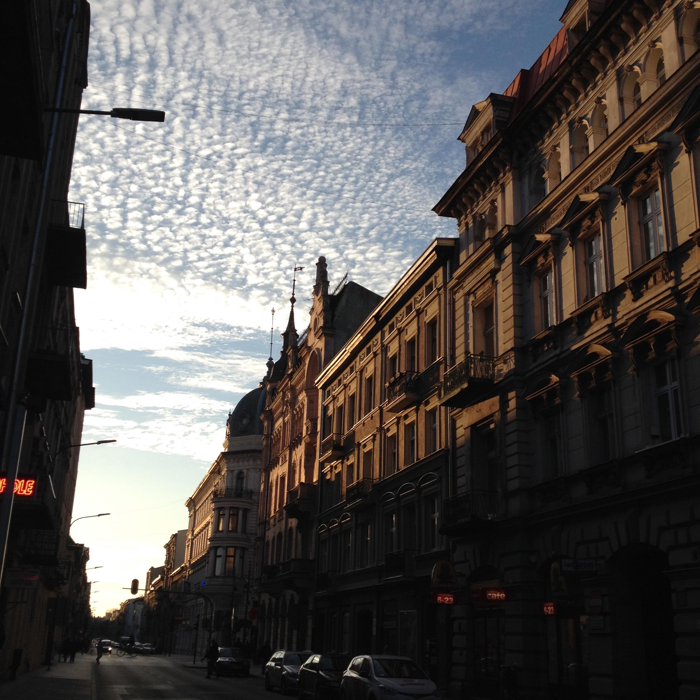 Edificios en la calle Rewolucji 1905 | Sabela Porto