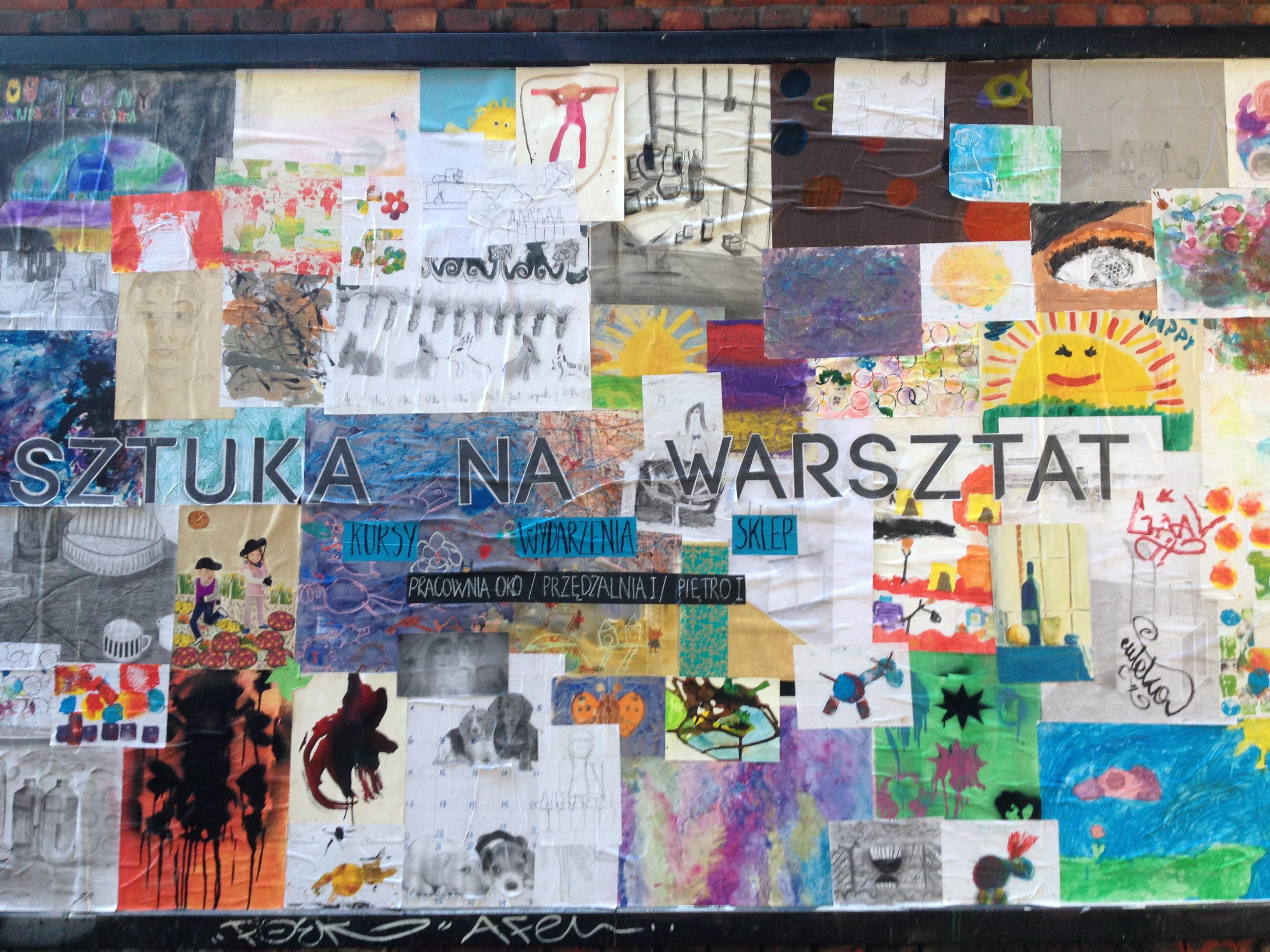 Muro en Off Piotrkowska | Sabela Porto