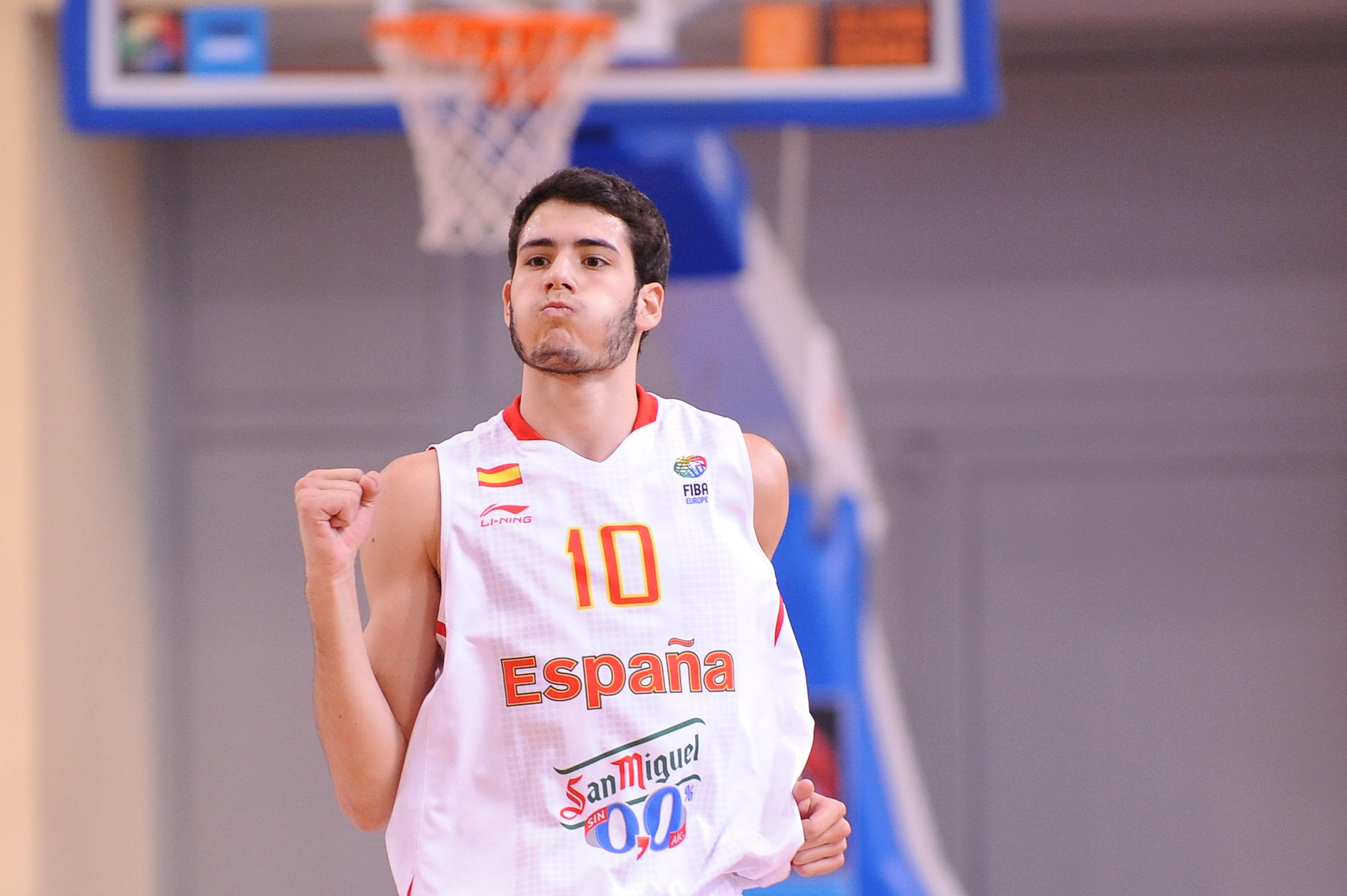 Álex Abrines está llamado a ocupar el puesto de Juan Carlos Navarro en el Barça y la selección | ©Federación Española de Baloncesto