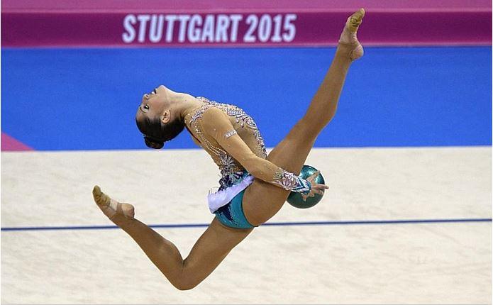 Carolina Rodríguez fue novena en el concurso completo del Mundial de Stuttgart | ©AFP