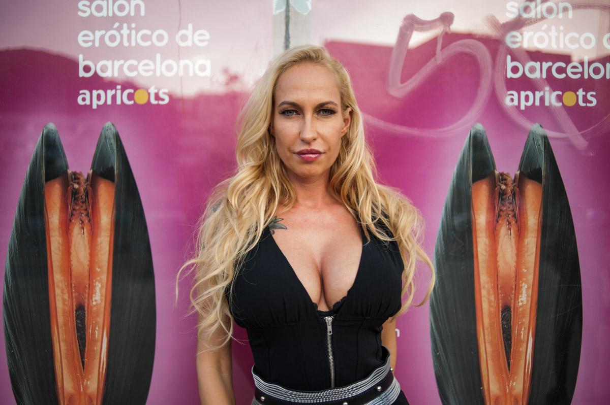 Sophie Evans en el Salón Erótico 2015 / © Víctor Parreño