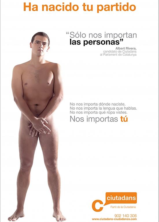 Ciudadanos, cartel electoral
