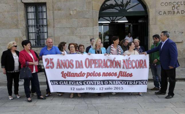 Los familiares volvieron a salir a la calle este año con motivo del 25 aniversario | ©Noé Parga