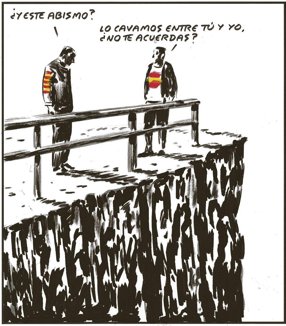 El PSOE ha ofrecido pocas soluciones a la situación catalana | © El Roto