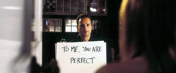 "Frame de la película ""Love actually"". 