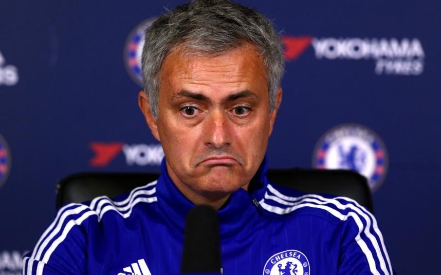 El papel mediático de Mourinho ha seguido dejando mucho que desear | ©Telegraph.