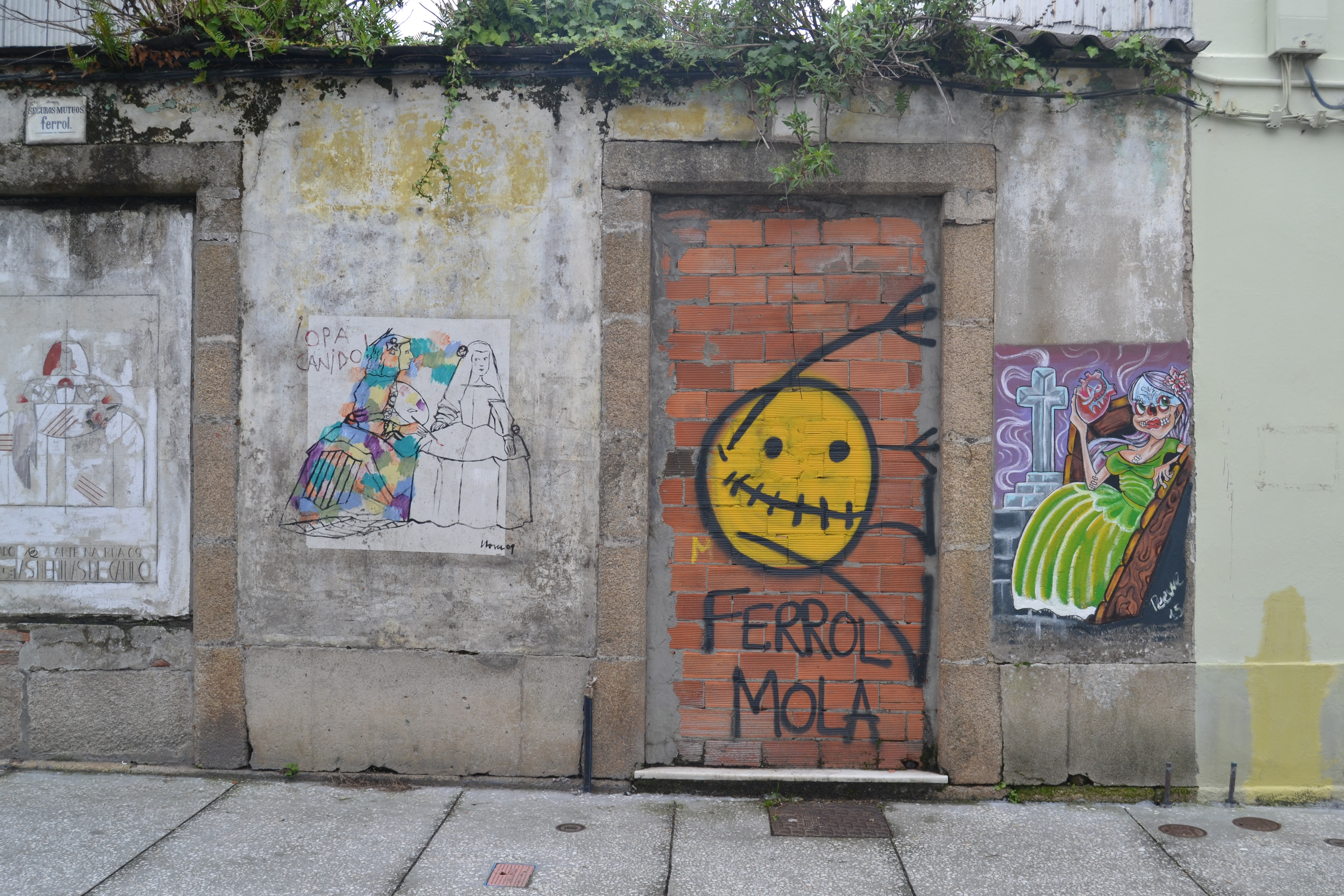Pintada presente en muchos puntos de la ciudad  © Natalia Saavedra