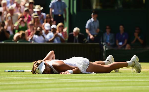 Su final en Wimbledon la confirmó como una realidad | ©Shaun Botterill / Getty Images.