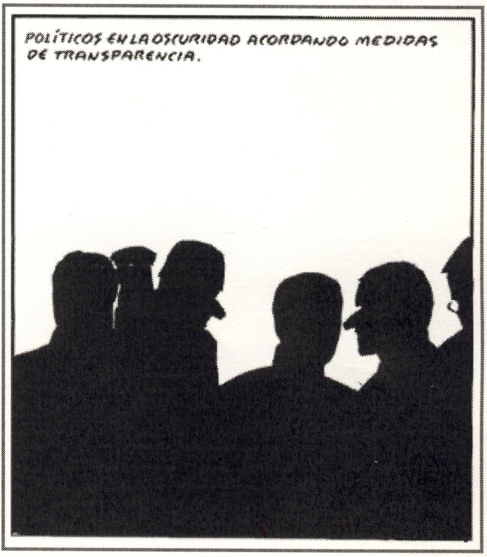 Transparencia tautológica | © El Roto