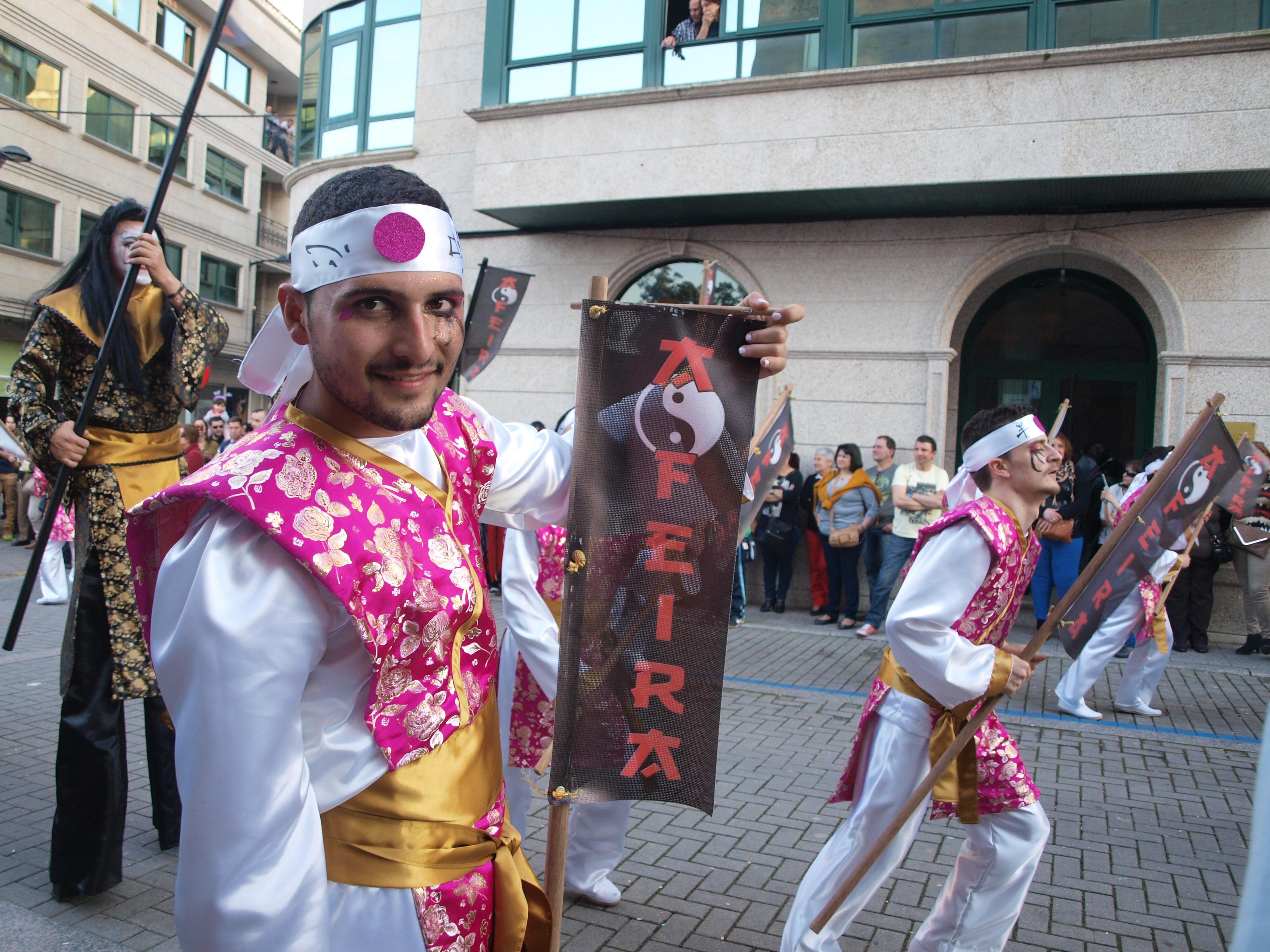 Comparsa de Carnaval en Salceda de Caselas | Sara P. Seijo