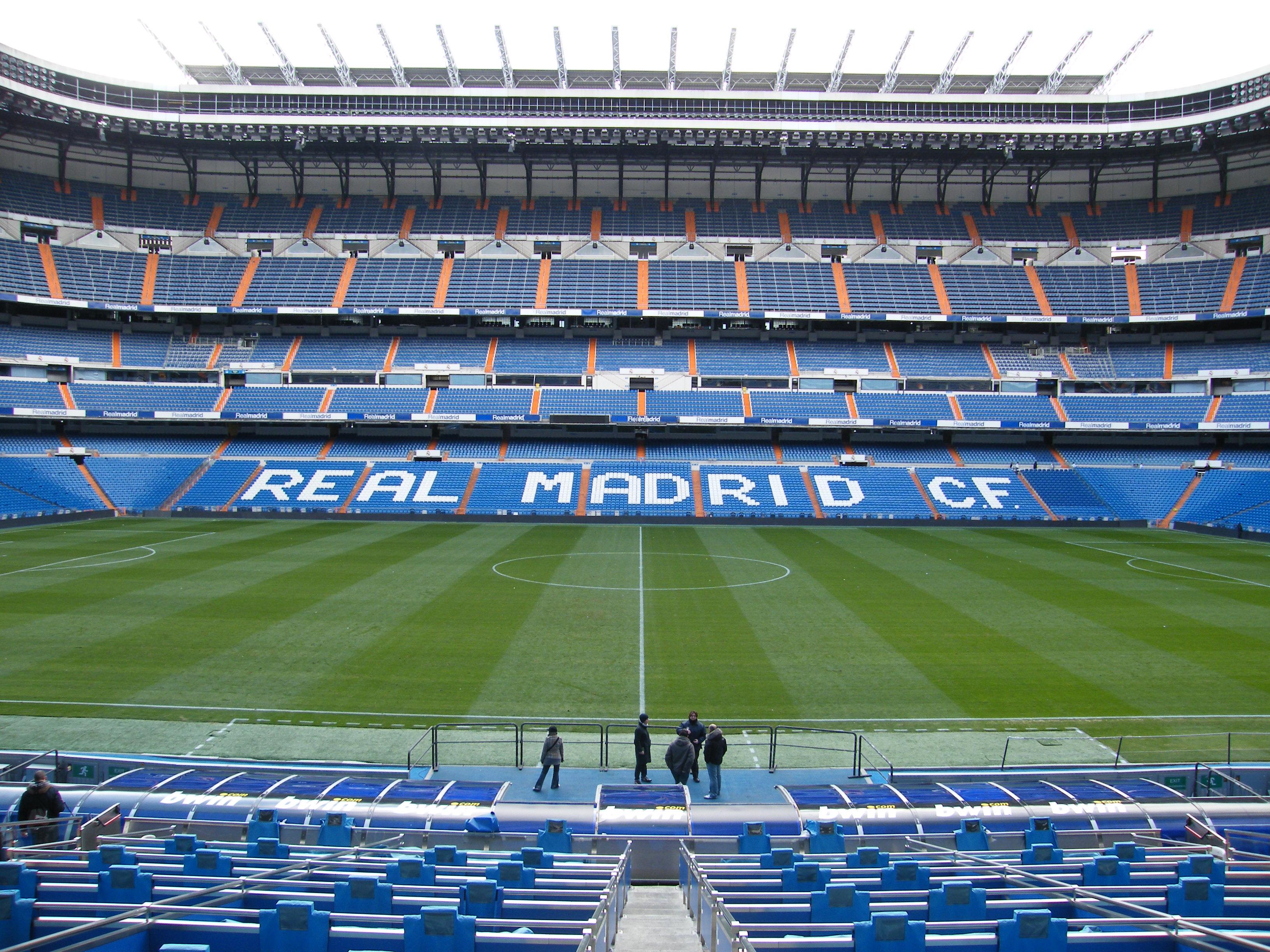Imagen del estadio Santiago Bernabéu. Sacada de wikipedia.org