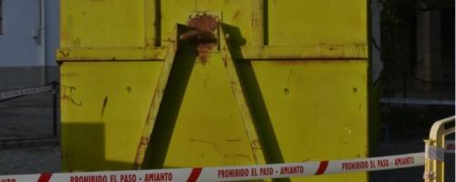 Prohibido el paso: amianto
