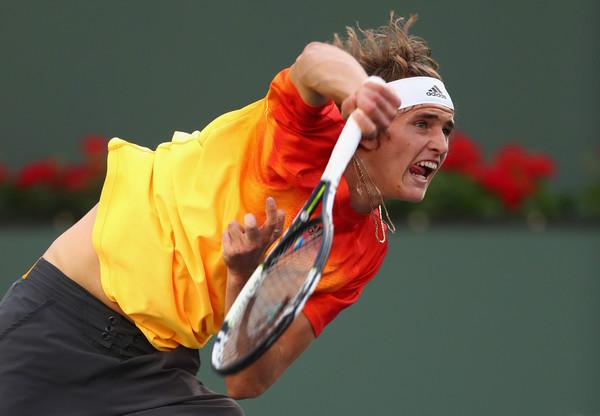 El joven alemán compitió a Nadal con garantías en Indian Wells | Julian Finney / Getty Images.