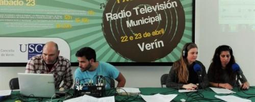 Xornadas de radio e televisión municipais en Verín