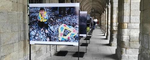 'Refuxiados sen camiño', a nova exposición de Gabriel Tizón