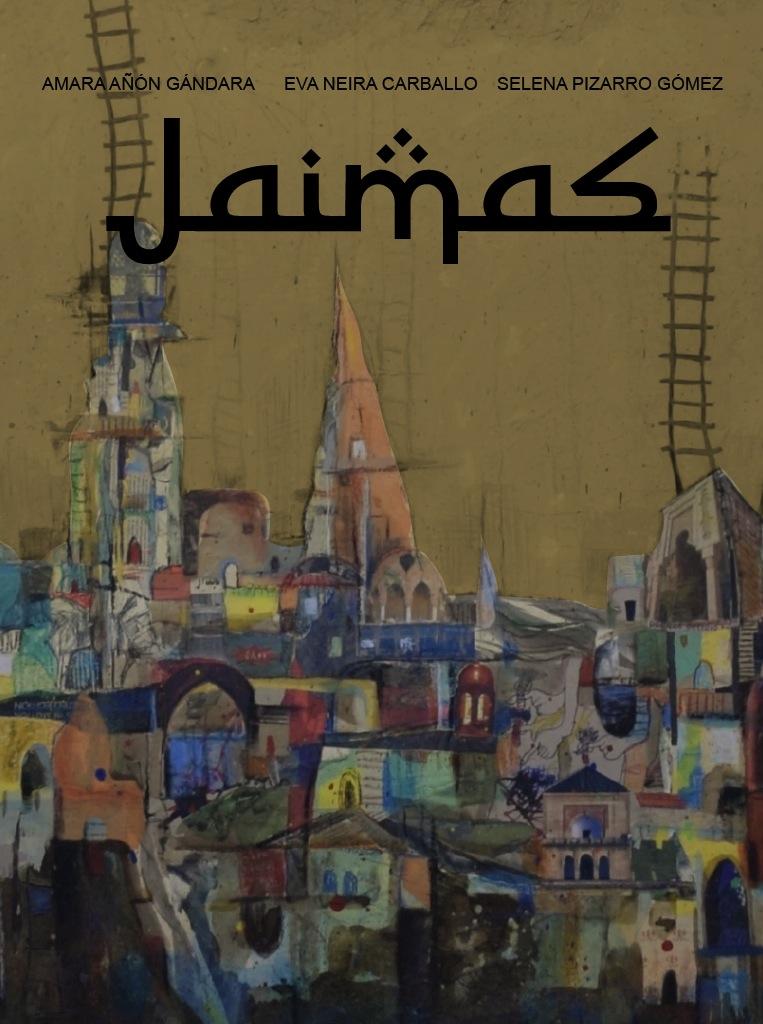 Cartel del documental realizado por las tres estudiantes en el que Siria se cuenta a través del arte que la retrata | ©Eva Neira Carballo