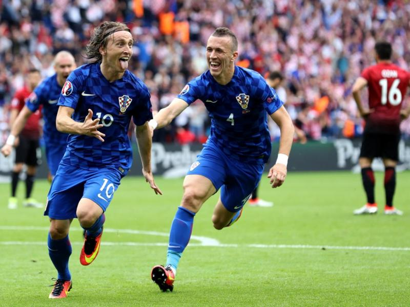 Modric y Perisic han sido dos de los jugadores más destacados de la selección croata | ©EFE