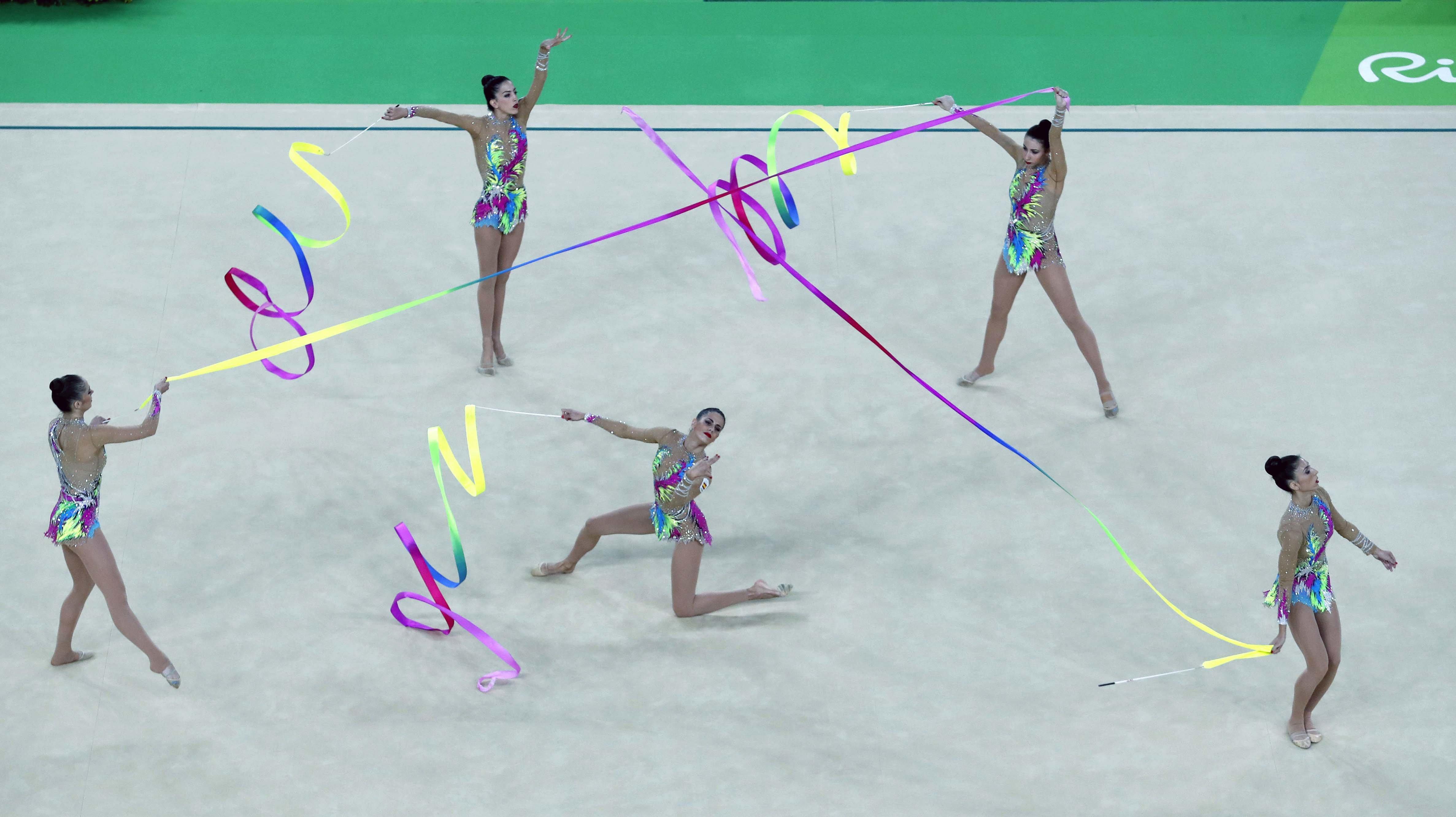 Tercera medalla olímpica para la gimnasia rítmica española | ©Orlando Barría/EFE