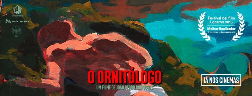 Cartel oficial do filme portugués laureado como mellor dirección no Festival de Locarno /©Facebook O Ornitólogo