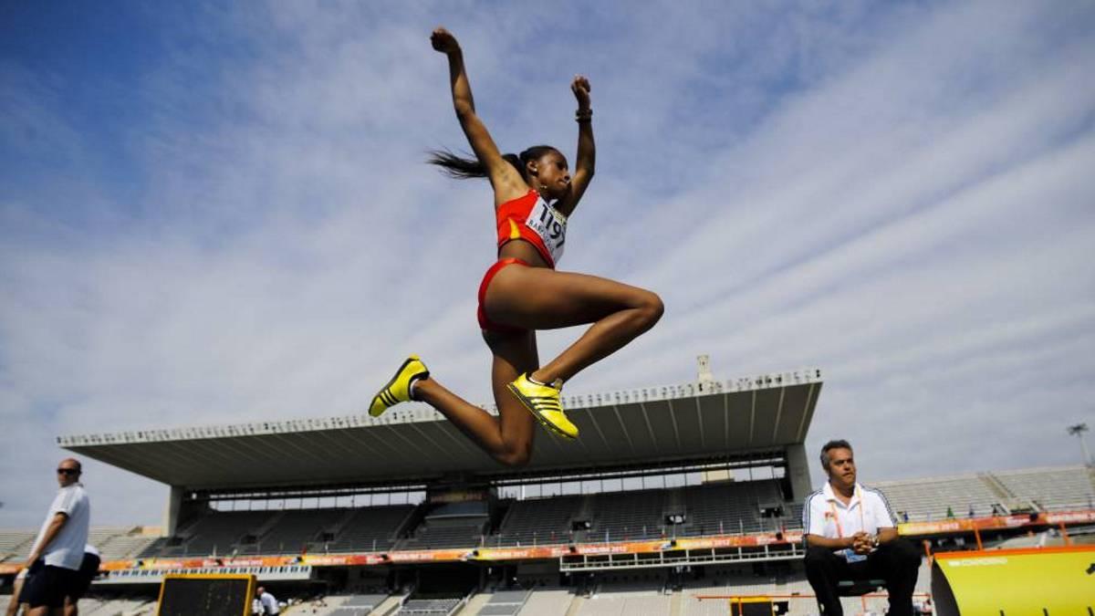 Ana Peleteiro, en una competición esta temporada | ©As