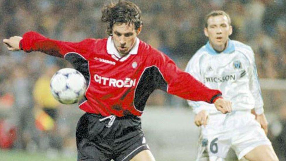 Mostovoi hizo soñar al celtismo con un gol que pudo ser decisivo en el partido de ida - ©La Voz de Galicia