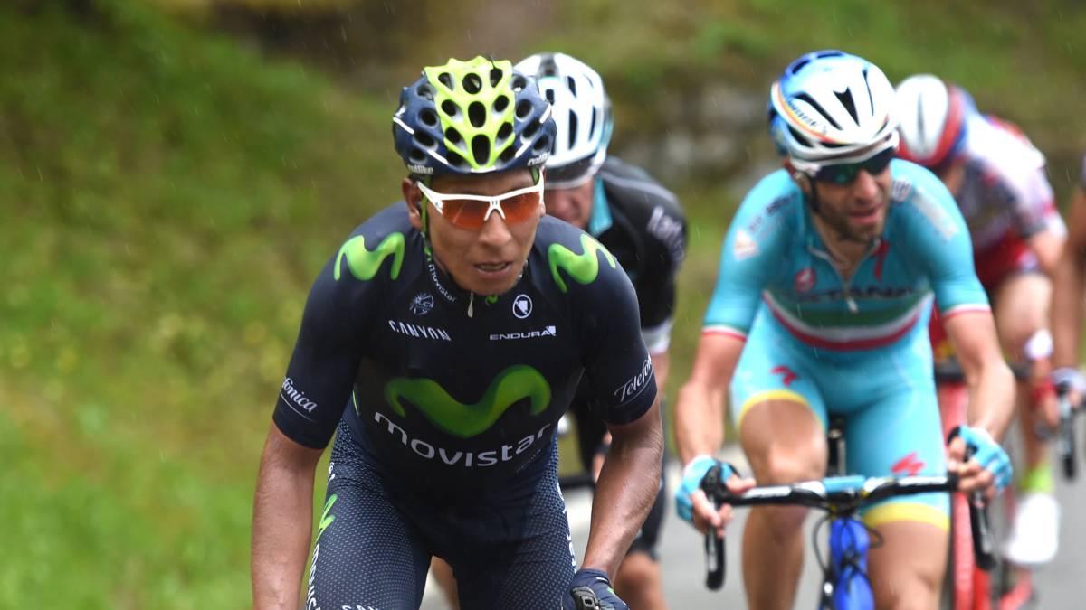 Todos esperan el duelo entre Quintana y Nibali en las montañas italianas - ©As Colombia